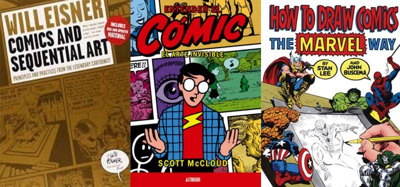 minicurso-para-no-dibujantes-gcomics-intro-libros-tecnica-del-comic