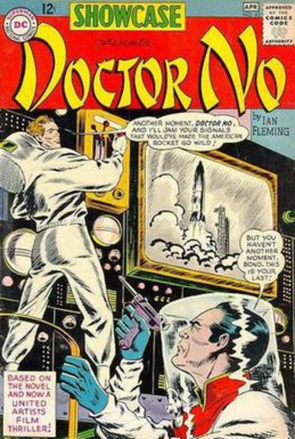 james-bond-en-la-historieta-dr-no-dc-comics