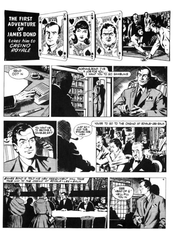 james-bond-en-la-historieta-pagina-novela-comic-casino-royale