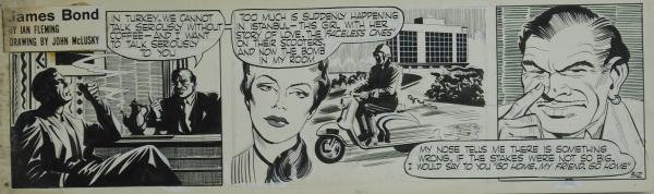 james-bond-en-la-historieta-pagina-novela-comic-mclusky