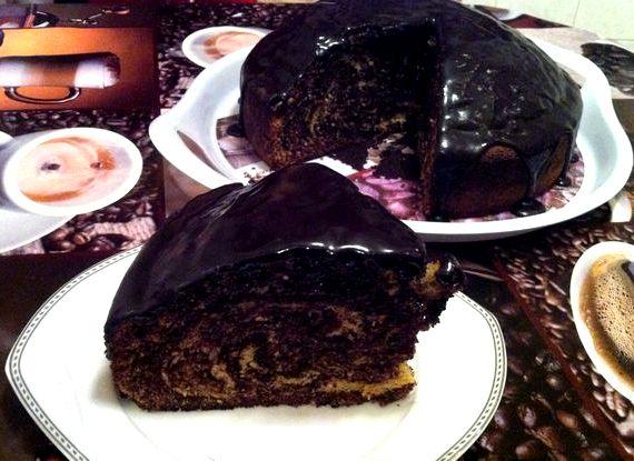 Торт зебра рецепт классический советского времени