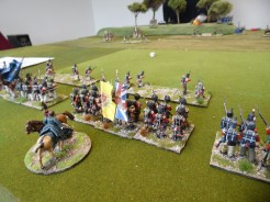 British reinforcements start to arrive