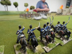 British Cavalry reinforcements turn up