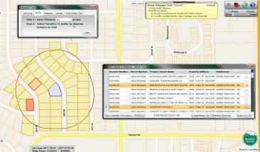 Property Web Map Buffer Operations