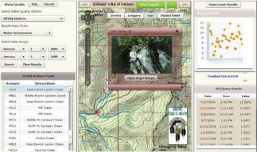 Water Quality Stream GIS web app