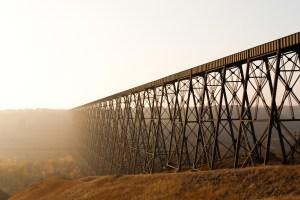 The Lethbridge High Level Bridge