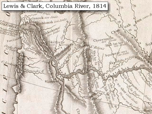 map_lewis_clark_columbia_west_1814