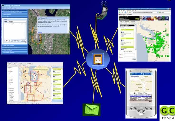 Pandemic Geospatial Alert System using ArcGIS