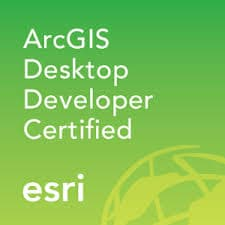 GCS ArcGIS Desktop Developer Certified