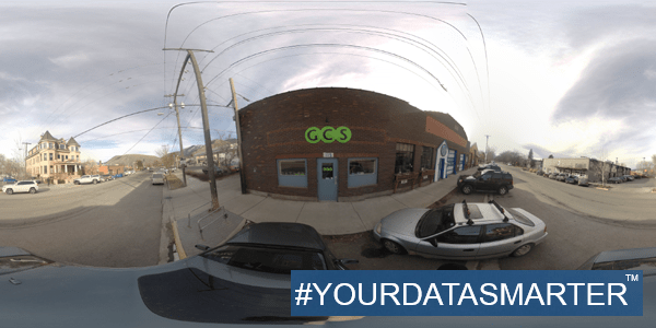GCS.  Your Data. Smarter.  Missoula, Montana office in the Hip Strip.
