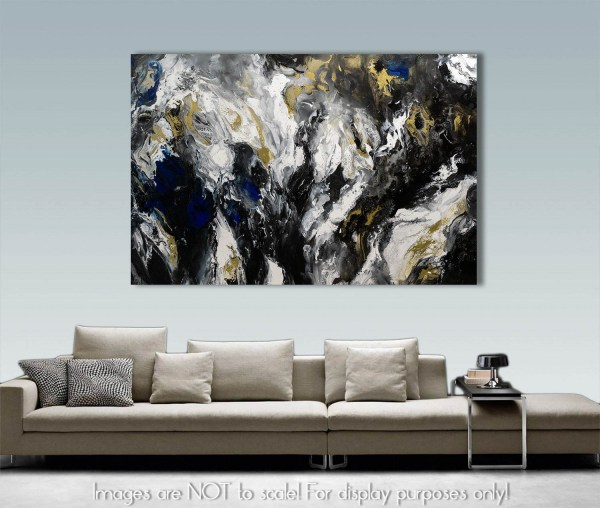 Black Magic - Abstract Painting
