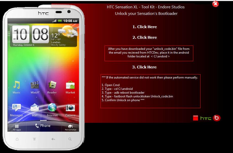Hướng Dẫn UnLock, Root, Recovery – HTC Sensation XL | zumphone com