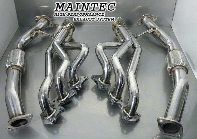 maintec header system genesis coupe 3 8