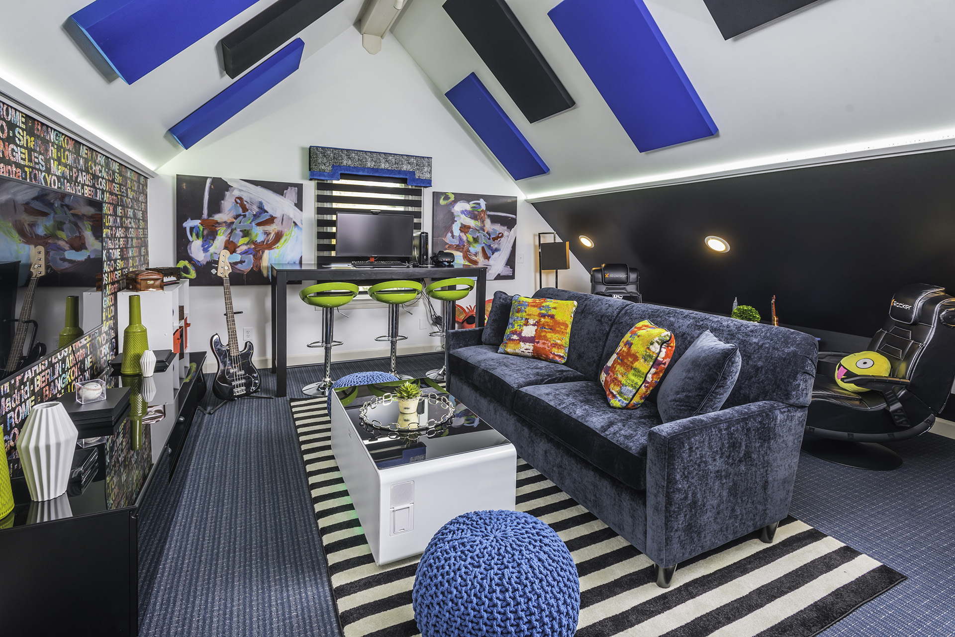 For homeowners with creativity and a need for something different, there's great potential for life. Game Room Interior Designer Loveland | Decorator for ...
