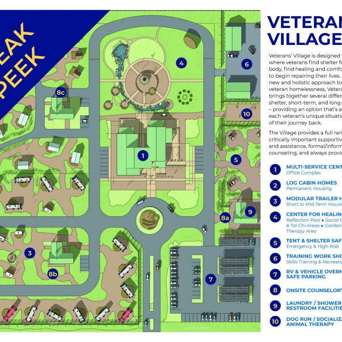 Veterans Village, the solution for ending veteran homelessness