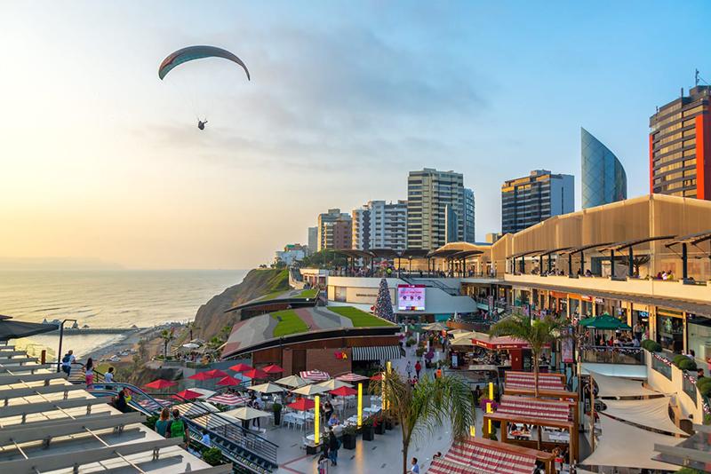 ShoppingLarcomar em Lima