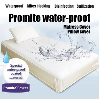 Local Shipping Promite Waterproof Anti Dust Mite Mattress Protector Made
