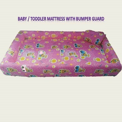 Baby Toddler Mattress With Per Guard