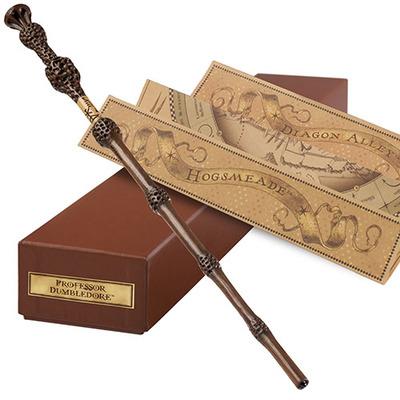 美國環球影城互動版魔杖 鄧布利多魔法棒 哈利波特 接骨木老魔杖-淘寶網