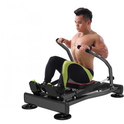 新款家用多功能液壓劃船機靜音健身器材有氧腹肌訓練塑形健腹器-淘寶網