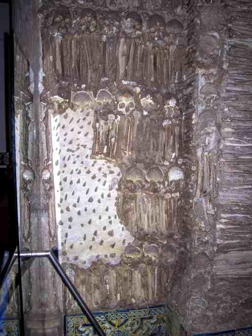 Detalhe de uma parede