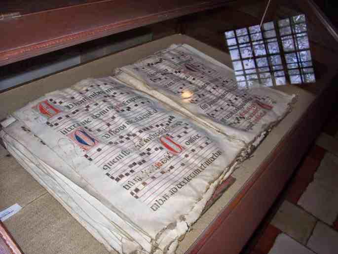 Livro de cânticos dos monges