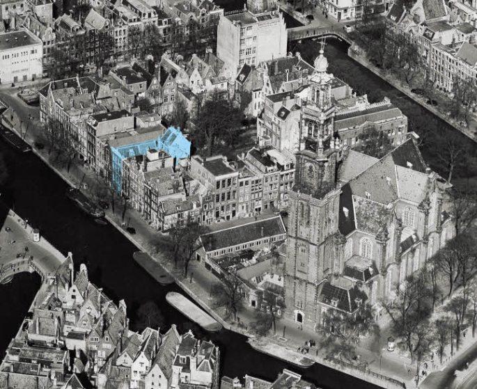 O prédio onde morou Anne Frank