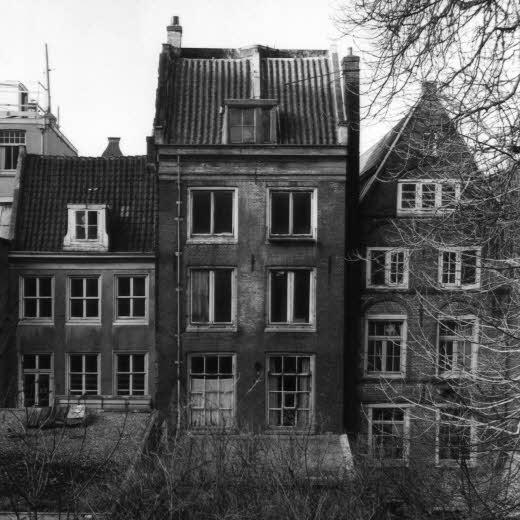 Museu Anne Frank - Fachada antiga do prédio