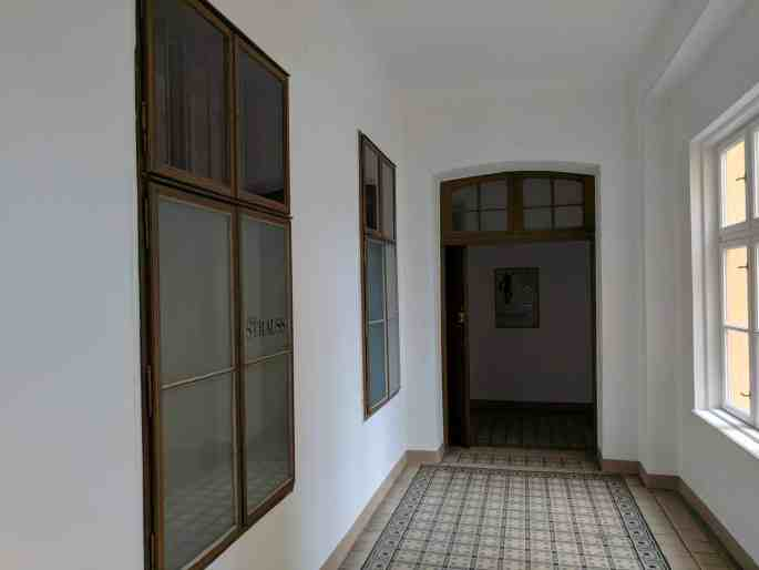 Apartamento de Johann Strauss em Viena: corredor