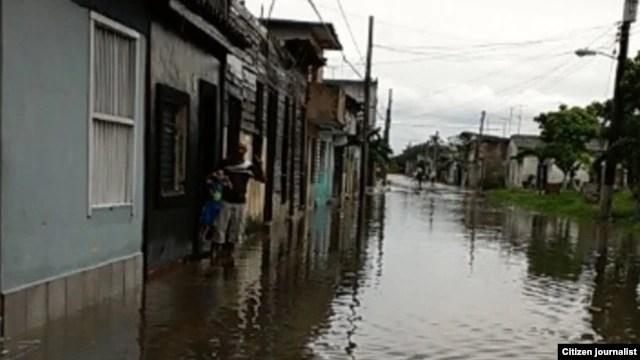 Inundaciones Sagua La Grande Mayo 4 de 2014