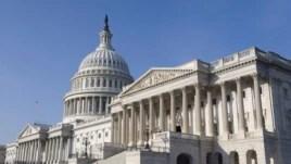 Vista del edificio del Capitolio en Washington, Estados Unidos, donde sesiona el Senado y la Cámara de Representantes.