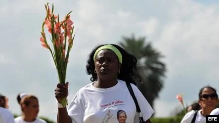 Berta Soler, líder de las Damas de Blanco