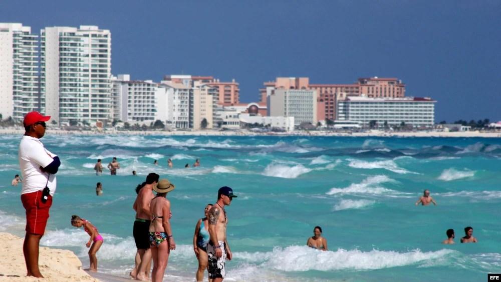 Cancún, en el caribe mexicano, es uno de los destinos turísticos más famosos del mundo.