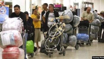 Ua resolución de la Aduana de Cuba redujo el equipaje permitido a los viajeros drásticamente.