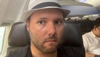 """Lavers fue declarado """"persona non grata"""" y devuelto a EEUU. Tomado de @mklavers81"""