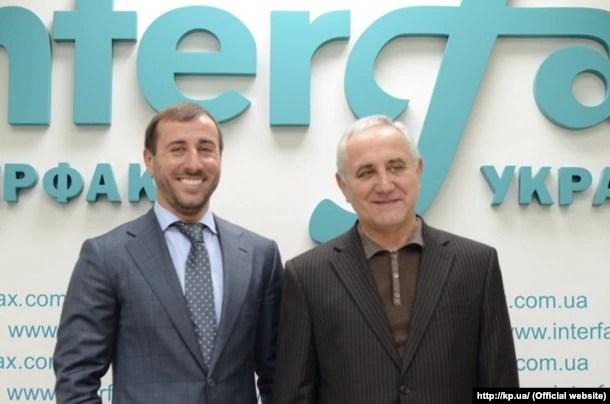 Сергій Рибалка з батьком Віктором