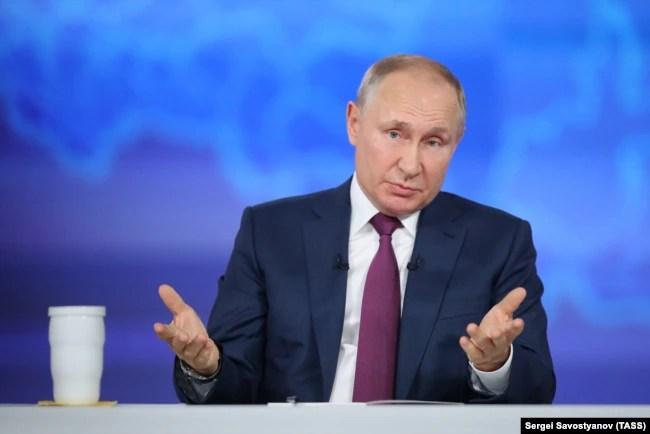 Володимир Путін, 30 червня 2021 року