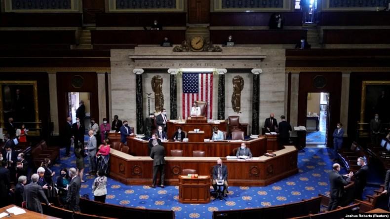 قانون اساسی ایالات متحده آمریکا قدرت اعلان جنگ را به کنگره داده است.
