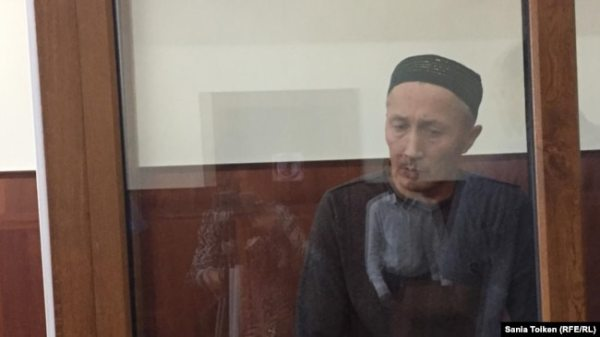 Житель Актау Абловас Джумаев, обвиненный властями в «разжигании розни» и «призывах к насильственному захвату власти».