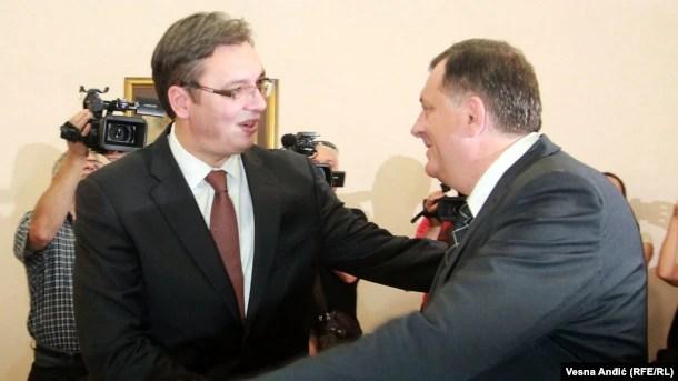 Aleksandar Vučić i Milorad Dodik: Da li je za Srbiju Republika Srpska kompenzacija za Kosovo?