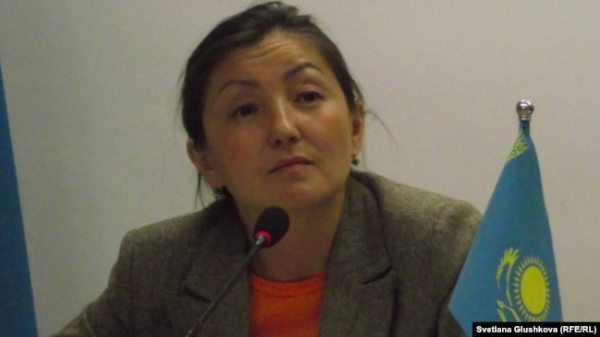 Анара Ибраева, руководитель правозащитной организации «Қадір-қасиет».