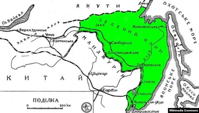 Мапа Зеленого Клину