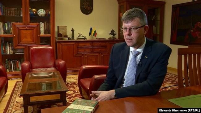 Посол Литви в Україні Марюс Януконіс