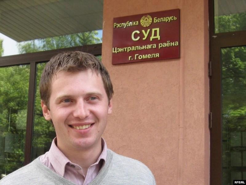 Dzmitry Smyk após sua absolvição