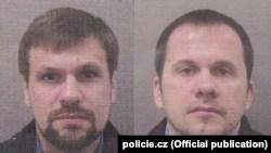 Снимки на Чепига и Мишкин, разпространени от полицията в Чехия
