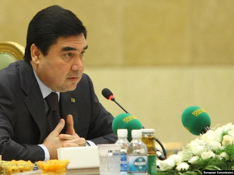 قربانقلی بردی محمّداف رئیس جمهور ترکمنستان