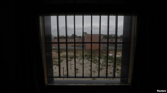 Pogled iz jedne od zatvorskih ćelija u Sheveningenu