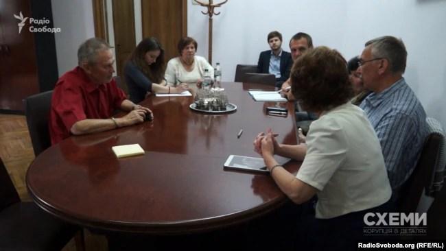 Засідання робочої групи УТОПІК