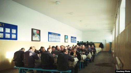 Фото из казахстанской колонии, сделанное представительством организации «Международная тюремная реформа» в Центральной Азии.