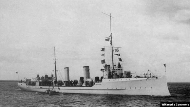 Эсминец «Украина» Балтийского флота